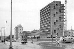 º Duarte Pacheco Antique Photos, Old Photos, Capital City, Good Old, Past, History, World, Building, Places