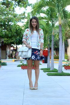 Catwalk Show: Linda, loira e japonesa: estampas orientais. Zara, pattern, oriental, look, do dia, blogger