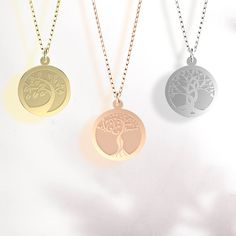 We are offering 20% off this collection from 27-30 November.🛍 Gold Necklace, Pendant Necklace, Tree Of Life Pendant, New Leaf, Solid Gold, Pendants, November, Collection, Jewelry