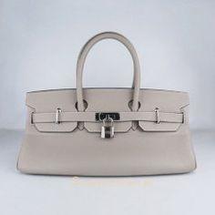 Sacs Hermès Pas Cher Birkin 42cm Togo Cuir Sac Grise 62642 €249.00