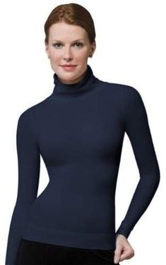 59affc6a On Top and In Control - Long Sleeve Shaping Turtleneck #jeans#high#worn