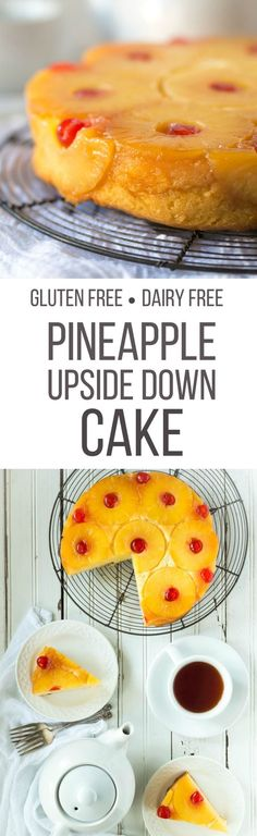 This is the only Gluten Free Pineapple Upside Down Cake recipe that you'll ever need, it's so easy to make and tastes delicious!