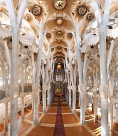Sagrada Familia chathedral  in Barcelona.