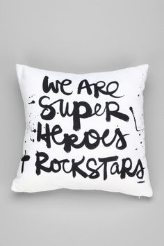 Kal Barteski For DENY Superheroes Pillow