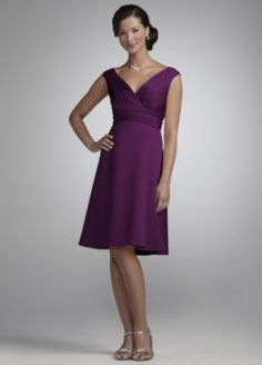 Love this dress and color!!!  Bridesmaid Dresses & Junior Bridesmaid Dresses at Davids Bridal