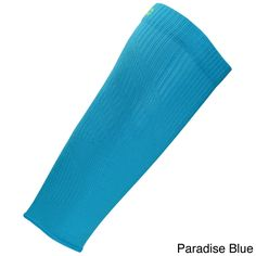 Brands Second Wind White Compression Sleeve (Paradise Blue - XSmall/Small)
