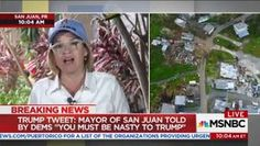 "Jamil Smith on Twitter: ""Mayor @CarmenYulinCruz of San Juan, Puerto Rico had an effective response on @amjoyshow to Trump's attacks on her. https://t.co/wpm11eAD77"""
