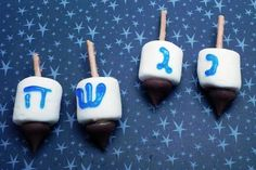 How to Make Edible Dreidels for Hanukkah! Kid-approved!!