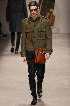 Semana de Moda Masculina – Milão/Burberry Prorsum Inverno 2013