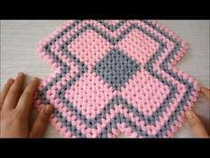 Basic Crochet Stitches, Knit Crochet, Crochet Patterns, Doilies, Applique, Make It Yourself, Blanket, Knitting, Creative