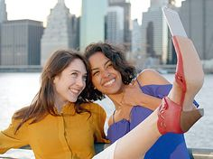 Miz Mooz Introduces the Selfie Shoe, Complete With iPhone Dock in Toe - Us Weekly