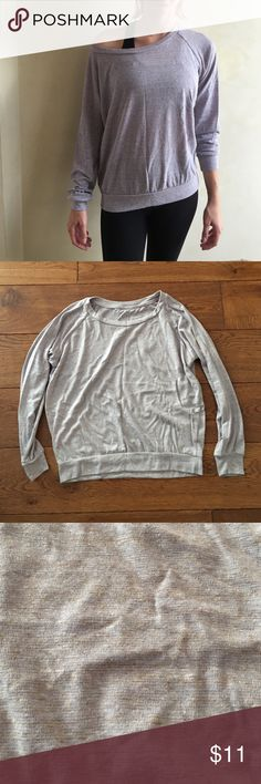 NWOT Alternative Apparel long sleeve Alternative Apparel light purple long sleeve. Fits loose. So light and comfy. ALSO have in same color grey as the men's v neck, just specify in a comment when you purchase. Thanks! :) Alternative Apparel Tops Tees - Long Sleeve
