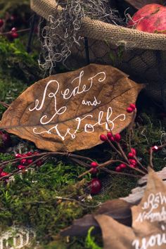 Little Red Riding Hood Marries The Wolf ~ Nerinna Studios, Blissful Events, McCallum Designs | bellethemagazine.com