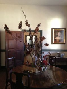 Colonial Decorations for Fall at Patrick Henry's Scotchtown