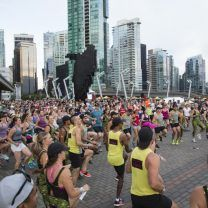 Definite FOMO after looking at these images from Lululemon's Seawheeze Half Marathon. #2017herewecome