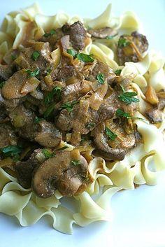 Beef Stroganoff #beef #pasta ugwechi