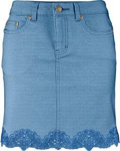 Resultado de imagem para szare spódnice jeans