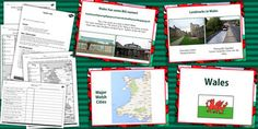 Teach your children all about the country of Wales in this handy Wales Teaching Pack. Teaching Packs, Teaching Resources, National Curriculum, Wales Uk, School Lessons, Stress Free, Welsh, Geography, Britain