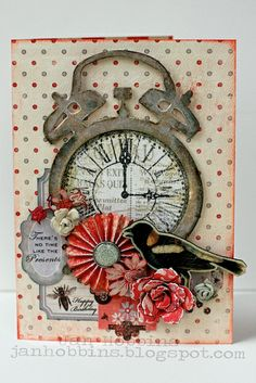 Trendy Tuesday – It's About Time (Clocks) :: Paper Crafter's Library