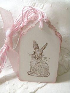 Sweet bunny tags