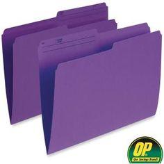 OP Brand Top Tab File Folder File Folder, Filing, Organization, Top, Getting Organized, Organisation