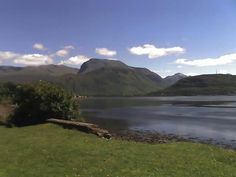 Ben Nevis viewed from the bottom of Neptune's Staircase at the Caledonian Canal