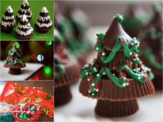 The Perfect DIY Sweet Peanut Butter Christmas Tree. Enjoyed by www.mygrowingtraditions.com