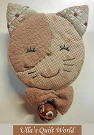 Pikowana kot centymetrem okładka, Wzór