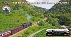 Want to know what kind of journey we'll take you on & which views you'll see? - Find out here with our Ffestiniog & Welsh Highland Railways route map.
