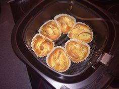 Apfel-Zimt-Amaretti-Muffins, ein raffiniertes Rezept aus der Kategorie Schnell und einfach.