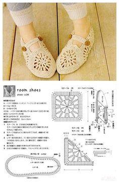 Tutorial: adult slipper crochet pattern #free #crochet #diy #crafts