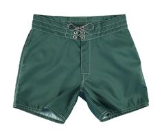 A legend for more than 50 years, Birdwell Beach Britches are available in a variety of styles, sizes and colors; these Men's Board Shorts 310 are in Dark Green.