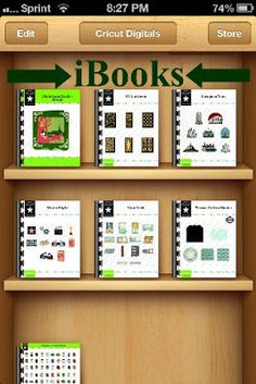 Fantabulous Cricut Challenge Blog: Putting cartridge handbooks in iBook