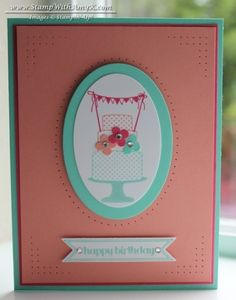 Make a Cake CAS by amyk3868 - Cards and Paper Crafts at Splitcoaststampers