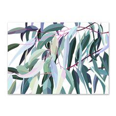 Kyabram Gum Limited Edition Print | Lamai Anne A2 [420 x 594mm] $145.95 A1 [594 x 841mm] $262.95 A0 [841 x 1189mm] $507.95