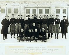 Here's where it all started ... Curly Lambeau and friends. The 1919 Green Bay Packers. #vintage #nfl