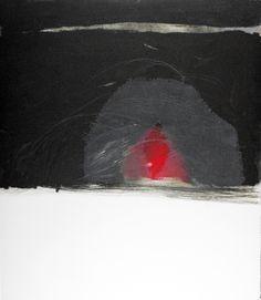 Gabriella Locci   Viaggio profundo • Técnica: Punta seca, carborundum y aguatinta • TAMAÑO Papel/PLANCHA (cms): 60x69/Irregular • EDICIÓN: #Monotipo •
