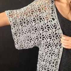 Boho Crochet Robe Crochet pattern by Linda Skuja Boho Kimono Robe Crochet pattern by ElevenHandmade Cardigan Au Crochet, Gilet Crochet, Crochet Jacket, Lace Cardigan, Crochet Shawl, Knit Crochet, Crochet Bolero Pattern, Boho Crochet, Crochet Motifs