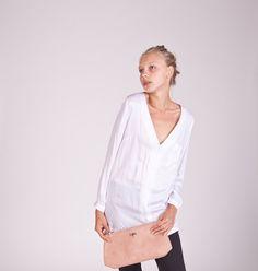 Long Sleeve White Tunic by MatkaShop - Etsy