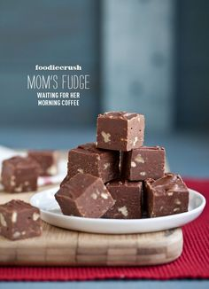 The Best Homemade Fudge with Pecans