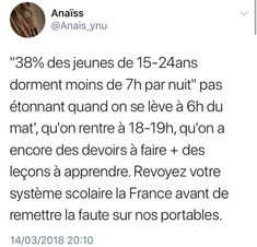 C'est vrai ça ! 😌 Funny Memes Images, Funny Jokes, Funny Pictures, Some Jokes, Best Tweets, Totally Me, Funny Picture Quotes, Bff Quotes, Funny Messages