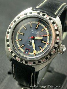 Favre Leuba Vintage Rolex, Vintage Watches, Vintage Men, Sport Watches, Cool Watches, Watches For Men, Favre Leuba, Watch Room, Seiko Mod