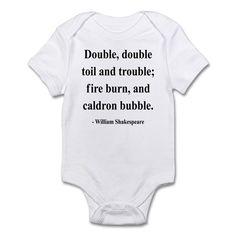 Shakespeare 24 Infant Bodysuit