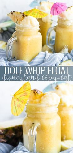 Disneyland Copycat - Dole Whip Float How To Make A Homemade Dole Whip Float Copycat Disney Recipes Homemade Disney Recipes Dole Whip Float Recipes Disney Recipes At Home How To Recreate A Disney Dole Whip Float Oh So Delicioso Strawberry Dole Whip Recipe, Disneyland Food, Disney Food, Disney Ideas, Drinks Alcohol Recipes, Punch Recipes, Drink Recipes, Xmas, Beauty
