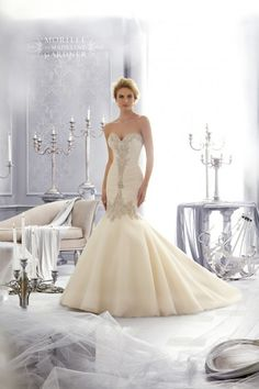 Mori Lee Wedding Dresses - Style 2682 [2682] - $1,398.00 : Wedding Dresses, Bridesmaid Dresses, Prom Dresses and Bridal Dresses - Your Best Bridal Prices