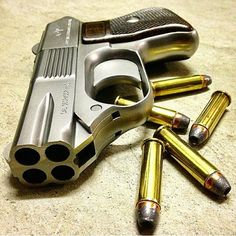 C O P, Concealed Off-Duty Police. Available in 357. Magnum or 22. Long Rifle. I had one in 357. Top break from pulling the rear sight back, and extending shell extractor. An actual 14 lb. trigger pull was the safety. With a pull like that it was strictly a close-in weapon.  John T. Kleptz