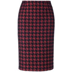 Skirt (7.775 RUB) ❤ liked on Polyvore featuring skirts, madeleine, knee length pencil skirt, patterned pencil skirt, blue pencil skirt, print pencil skirt and patterned skirts