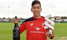 Firmino picks up first Player of the Month award