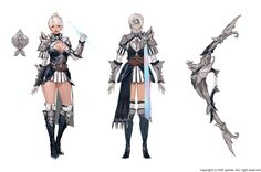ArtStation - HIT_ Character concept_ Lena, bom Yeon