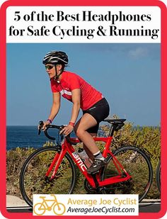 5 of the Best Headphones for Safe Cycling & Running In this post and comparative chart we compare 5 Cycling Quotes, Cycling Tips, Cycling Workout, Cycling Art, Cycling Shorts, Cycling Jerseys, Cycle To Work, Best Headphones, Bluetooth Headphones